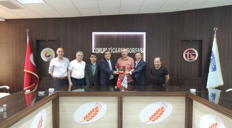 Çorum Environment and Urbanism Provincial Director Visit