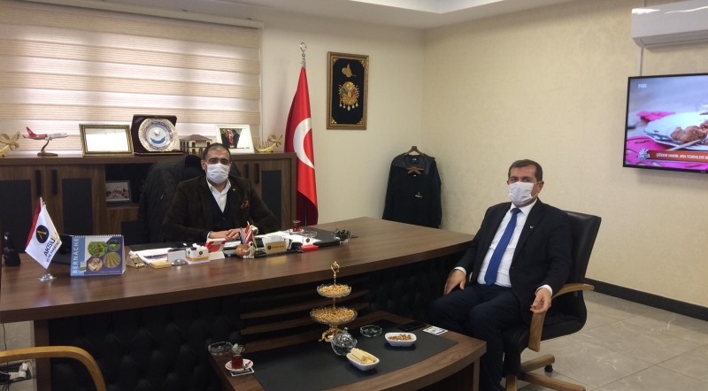 VISIT TO TURGUT AKSU, CHAIRMAN OF THE BOARD OF SULUOVA CHAMBER OF COMMERCE AND INDUSTRY